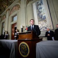 Nuovo governo, il debutto di Renzi