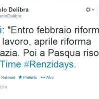 #Renzidays e il calendario di Matteo: ironia su Twitter