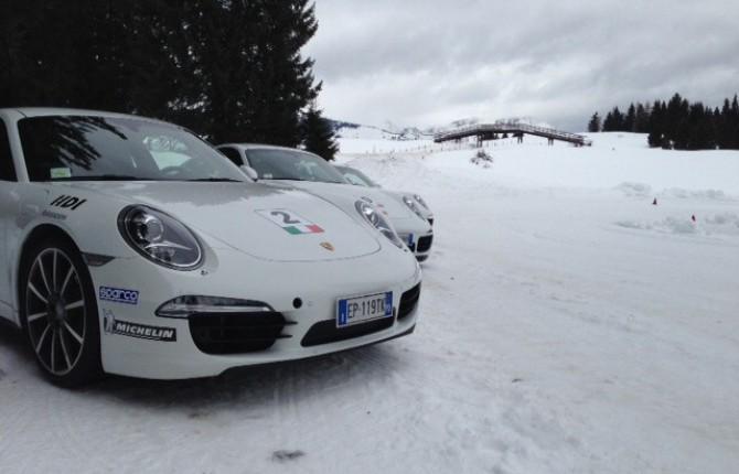 Porsche Ice Camp che passione