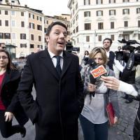 Renzi verso il governo, le prime consultazioni con i partiti