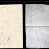 Progressi da illustratore, raccolta di disegni dai 2 ai 24 anni