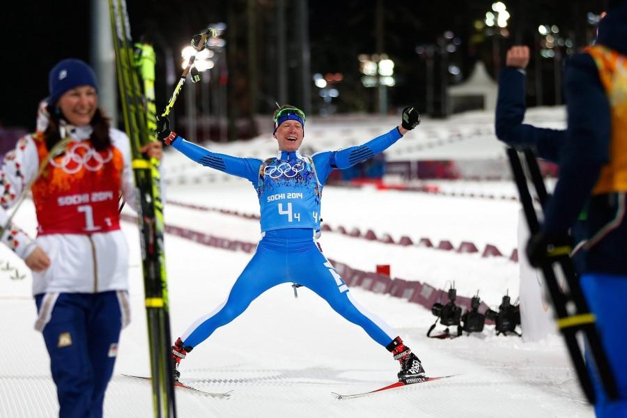 Sochi 2014, bronzo azzurro nel biathlon