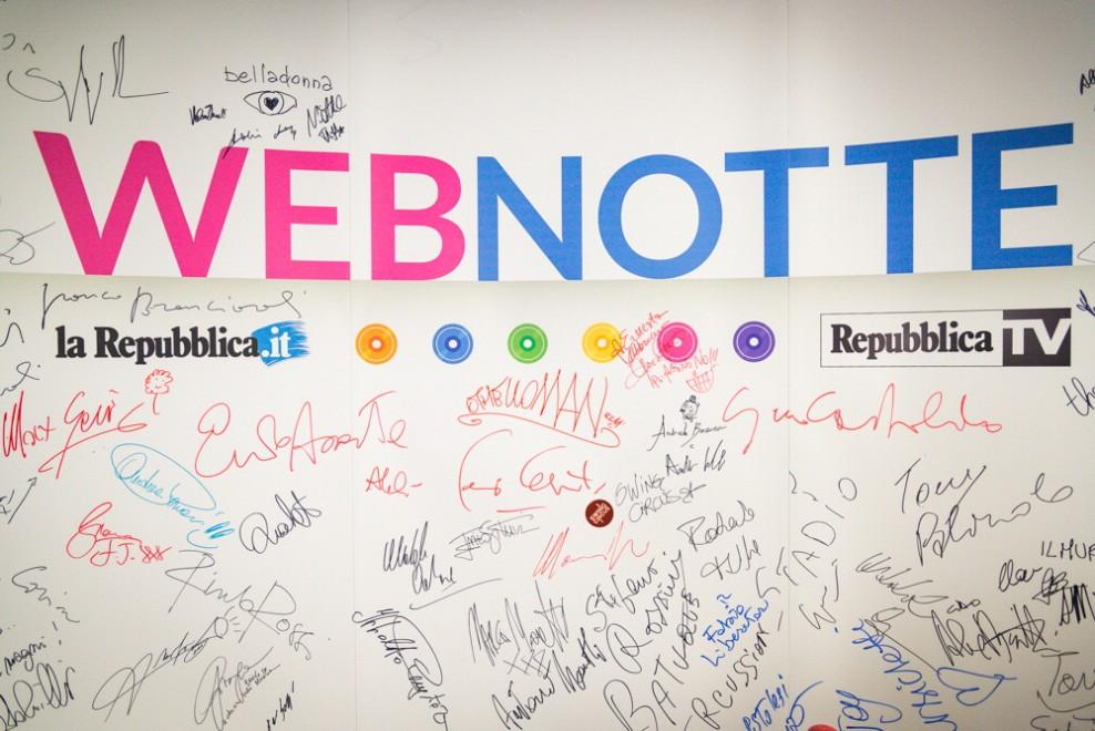 Webnotte, il backstage della seconda puntata del Parafestival