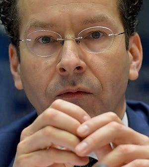 """Dijsselbloem: """"Flessibilità sui conti,<br />se ci saranno riforme definite con la Ue"""""""