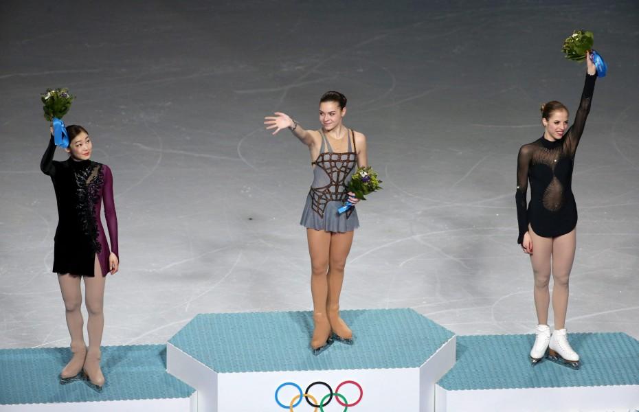 Sochi 2014, Kostner medaglia di bronzo nel pattinaggio