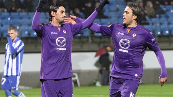 Esbjerg-Fiorentina 1-3, viola a un passo dal derby italiano con la Juventus - Repubblica.it