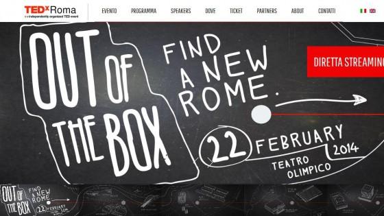 """""""Tedx Roma"""", nella Capitale alla ricerca di idee fuori dagli schemi"""
