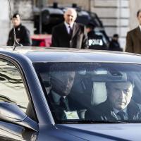 Renzi, l'arrivo al Quirinale