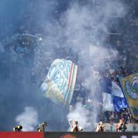 Lazio, flop tifosi: contestazione e fuga