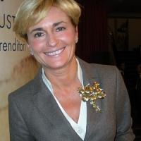 Federica Guidi, una figlia d'artealla guida del ministero dello Sviluppo