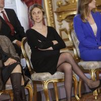 Governo Renzi: il giuramento di Marianna Madia, ministro col pancione