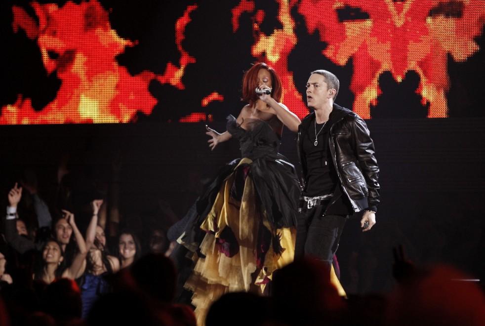 Eminem e Rihanna, arriva il tour in bianco & nera