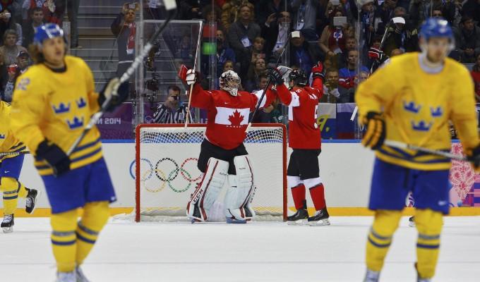 Sochi, Canada oro nell'Hockey: battuta in finale la Svezia