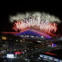 Sochi: la cerimonia di ch...