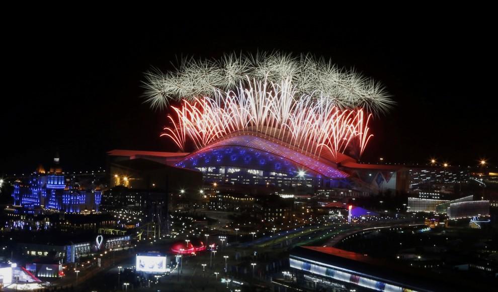 Sochi: la cerimonia di chiusura