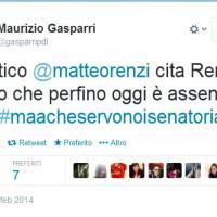Discorso di Renzi al Senato, le reazioni dei politici su Twitter