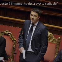Il discorso di Renzi al Senato: le 20 frasi