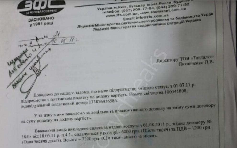 Ucraina, ecco alcuni documenti di YanukovichLeaks