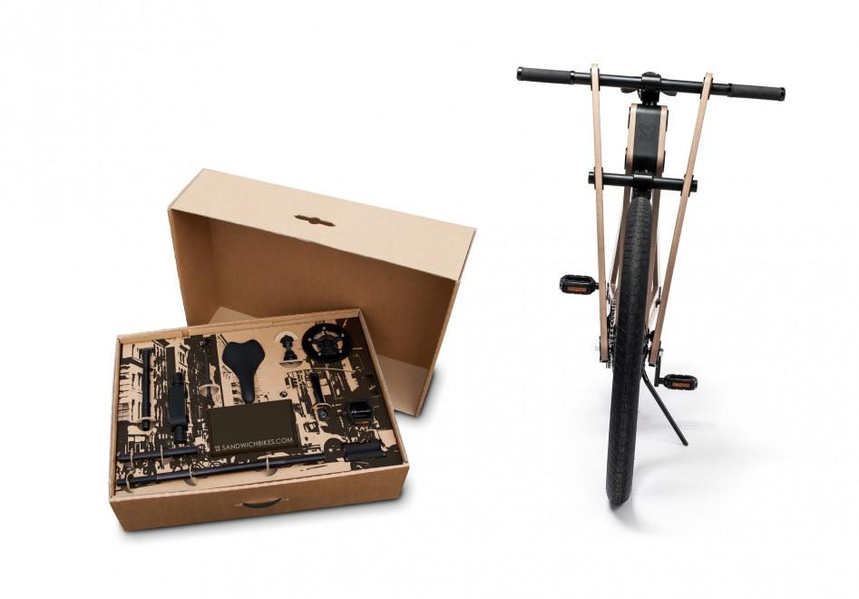 La bici di legno fai da te arriva a casa nella scatola - Parete in legno fai da te ...