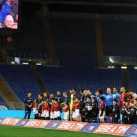 Roma-Inter, mezzo stadio Olimpico chiuso