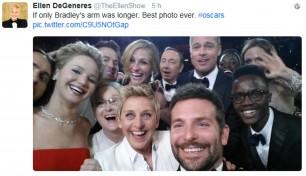 Quasi quasi faccio un selfie così l'Oscar diventa social