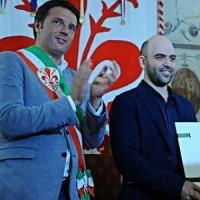 """Saviano a Renzi: """"Prendo sul serio l'impegno anti-cosche"""". Da Civati piano sull'autoriciclaggio"""