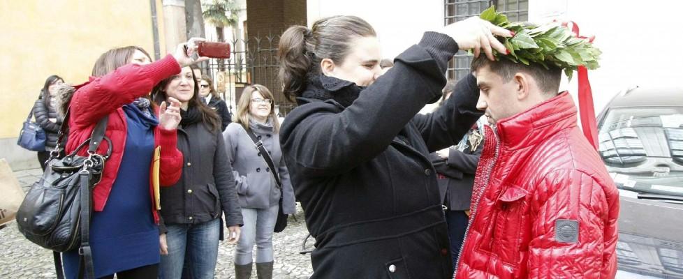 """La battaglia vinta di Pier: """"Io, primo laureato autistico esco dalla prigione di cristallo"""""""