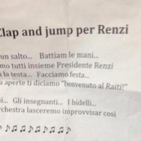 Se i bimbi cantano il culto di Renzi