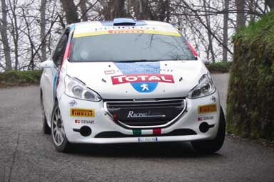 Il Peugeot Rally Junior Team scalda i motori