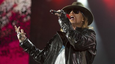 "Dai Guns n'Roses un concerto in 3D al cinema ""Appetite for Democracy"""