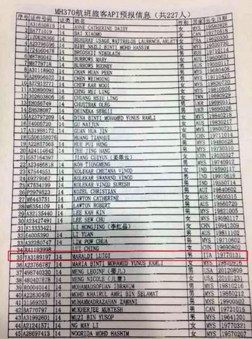 """Aereo scomparso: i nomi """"sospetti"""" nella lista dei passeggeri"""