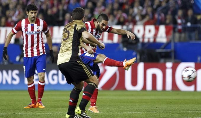 Atletico-Milan 4-1:  segui la diretta