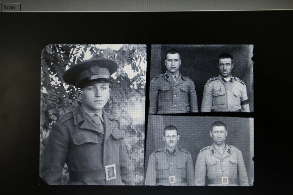 Prima Guerra Mondiale, le foto del soldato in digitale