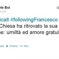 "RNews, TwitterTime: Following Francesco. Un anno con il ""Papa social"", i tweet"