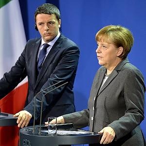"Da Merkel fiducia a Renzi: ""Colpita dal cambiamento strutturale"""