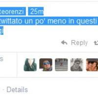 """Renzi, tweet del mattino: """"Ci sono, al lavoro a Chigi"""""""