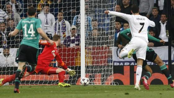 Real Madrid-Schalke 3-1: Ronaldo scatenato, tutto facile per i Blancos
