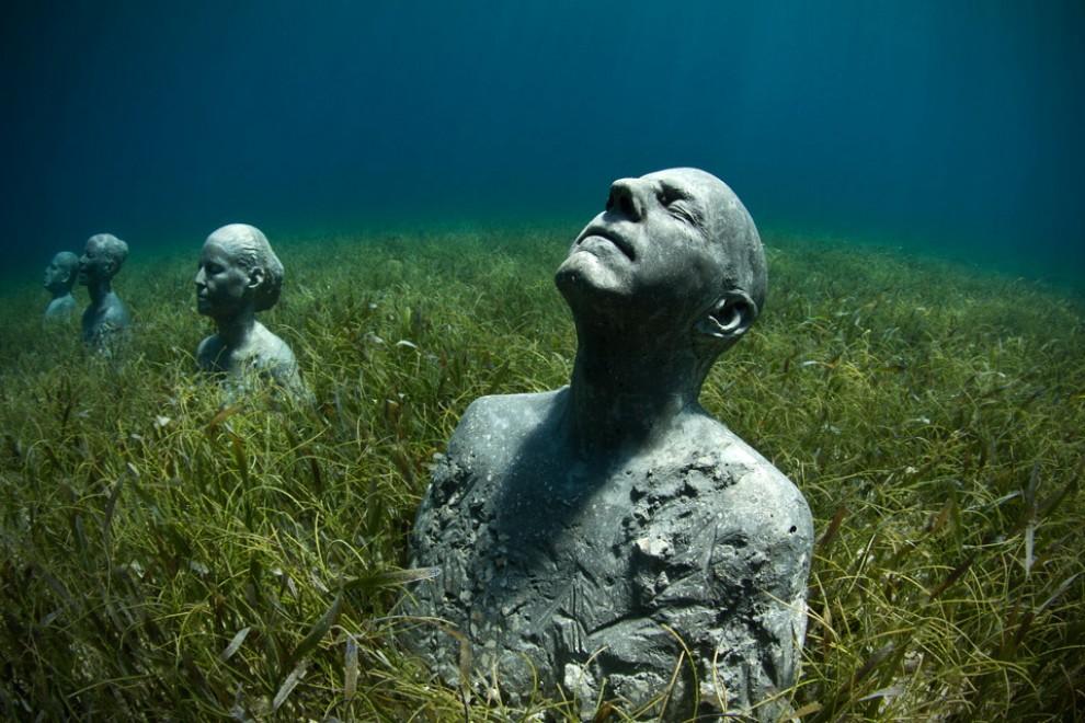 Un museo sott 39 acqua le sculture di jason - Depurare l acqua di casa ...