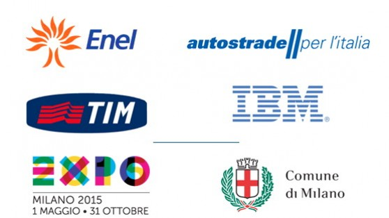 Il sostegno di Enel, Autostrade, Tim e Ibm con Expo