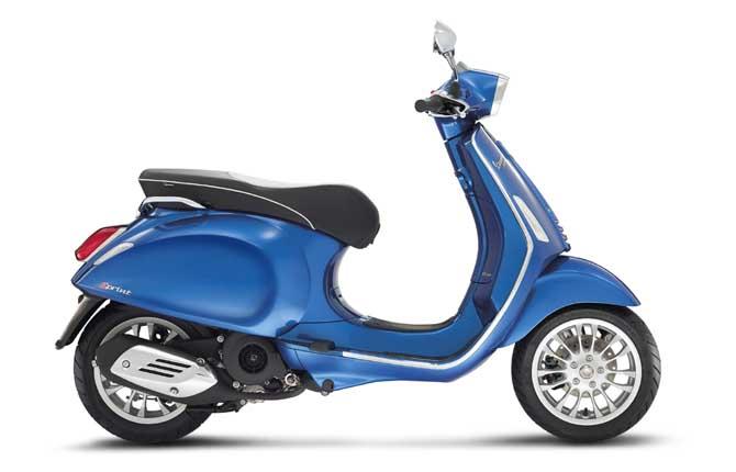 """Nuovo modello """"old style"""" per la Vespa"""