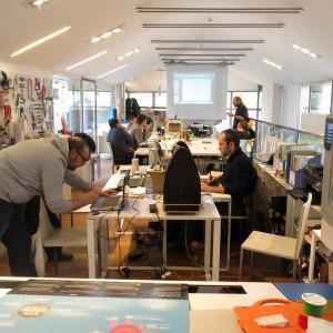 """Andrea e la nuova generazione di lavoratori in rete. """"Il fab lab è la nuova via italiana all'innovazione"""""""
