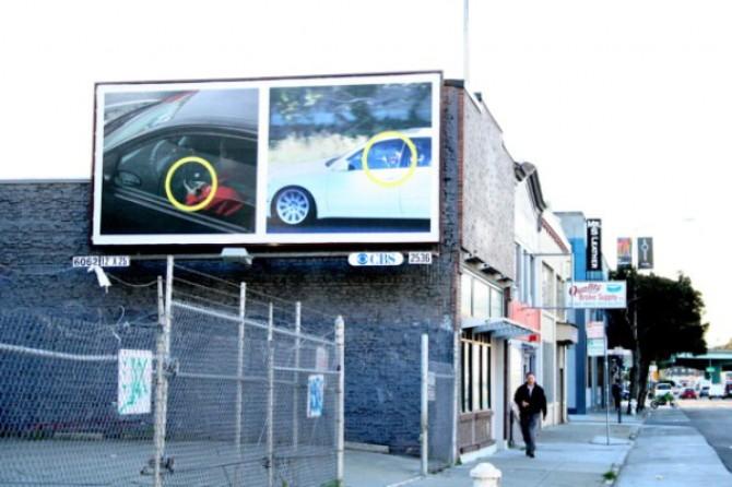 San Francisco, la campagna: chi scrive sms alla guida finisce sui cartelloni