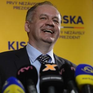Risultati immagini per kiska presidente slovacchia