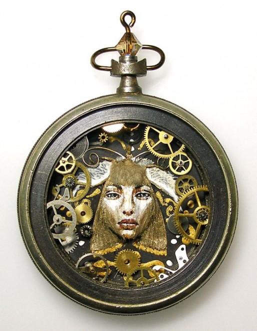 Arte D Ingranaggio Le Piccole Creazioni Negli Orologi