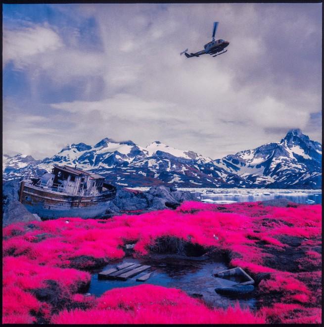 L'Artico a colori, lo scatto è agli infrarossi