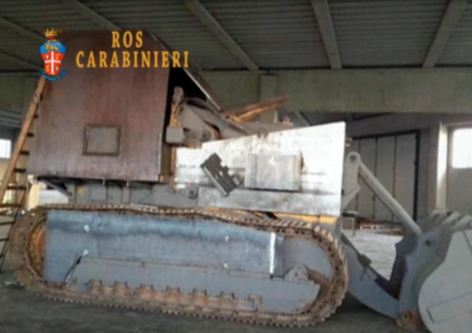 Secessionisti: il carro armato artigianale 'Tanko'