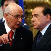 """Berlusconi va al Quirinale e chiede """"tutela politica"""" ma Napolitano dice no"""