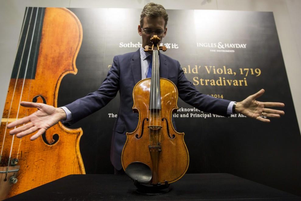 "Hong Kong, Sotheby mette all'asta lo Stradivari ""MacDonald"""