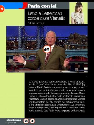 Leno e Letterman come Casa Vianello
