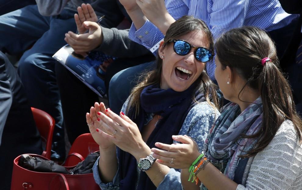 Tennis, Pennetta in tribuna a Napoli: tifo per il 'suo' Fognini